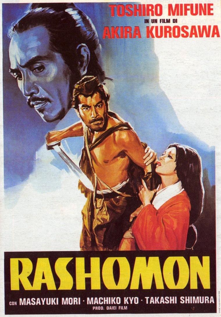 RASHOMON - Italian Poster